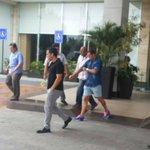 @RadioHuancavilk [FOTO] Brahian Alemán sale en estos momentos a realizarse los chequeos médicos @BarcelonaSCweb http://t.co/kgg4k9xBn8
