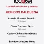 #LocatelTeInformaYOrienta: Lesionados de Hospital Materno Infantil de Cuajimalpa. http://t.co/CWkPRZPM7W