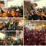 Glimpse of Smt. @thekiranbedi road show in Patparganj (New Delhi) - 29th January 2015. #Vote4BJP #BJP4Delhi http://t.co/QpW6YDJgjL
