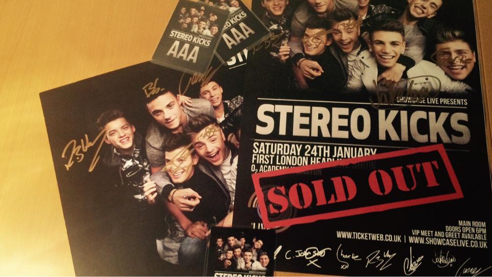 We have some signed @StereoKicks posters and 2xAAA passes to give away from last weekends show. RT and follow to win http://t.co/MkSsr0XlEx