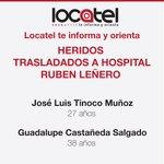 #LocatelTeInformaYOrienta: Lesionados de Hospital Materno Infantil de Cuajimalpa. http://t.co/z1IxCERzrt