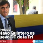 [ÚLTIMA HORA] Gustavo Quinteros será presentado como técnico de #Ecuador » http://t.co/fxGTht3csr. ¿Qué opinas? http://t.co/fexeEIdGVs