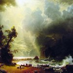 A throwdown from the Seattle Art Museum: when the #Patriots win the game, SAM will loan us this Bierstadt #museumbowl http://t.co/jMK7KV5GPF