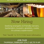 Great food, great beer, great people. Apply for jobs at Barrel & Bushel or stop by the job fair @shoptysons! #tysons http://t.co/kYjwTTxg1V