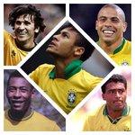 Gols pela Seleção aos 23 anos: Neymar - 43 Pelé - 41 Ronaldo - 29 Romário - 6 Zico - 0 https://t.co/oogTnhAHZ7