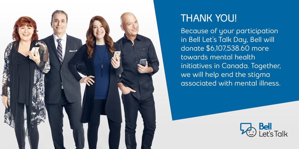 @NathanFillion --> RT @Bell_LetsTalk: The final results are in! Thank you all for your participation! #BellLetsTalk http://t.co/57fiZrXR15