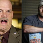"""@FoxNews: Jesse Ventura refuses to see American Sniper, says Chris Kyle is no hero. http://t.co/KM2t3KLJkp http://t.co/2HwqtHPyqb"" Good"