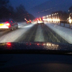In photos: Snow hit Kent and Sussex this evening and people were generally quite pleased. http://t.co/l9SHKa2EKG http://t.co/YAVeKdHMgW
