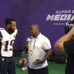 Tune in to a special edition of #Patriots GameDay tonight on WBZ @ 7pm! @LevanReid goes 1-on-1 w/ WR Brandon Lafell! http://t.co/2nS7wqYbhZ