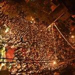 This was the scene at .@ArvindKejriwals jansabha in Kirari! http://t.co/btJ62ndPid #CabinetVsKejriwal