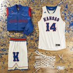 Rock Chalk, Jayhawk.  Introducing @KUHoops new uniforms honoring the 1988 National Champions.  #KUbball http://t.co/CrsC6i64bk