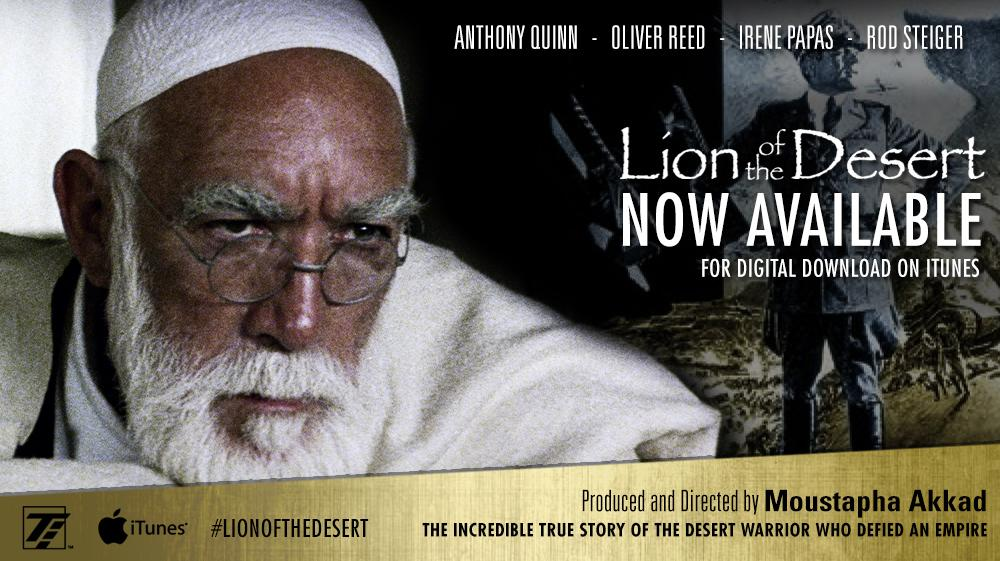 #Lionofthedesert is now for digital download on #iTunes #MoustaphaAkkad #AnthonyQuinn  https://t.co/209y1AoNrw http://t.co/pTjPAjXbHX