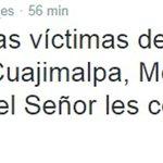 El Papa a través de su cuenta de twitter [@Pontifex_es] pidió rezos por lo sucedido en el #HospitalMaternoInfantil http://t.co/8wBnctuMZV