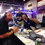 .@CharlieBatch16 on air with @dery1051 & @TomMazawey @DSports1051 #DETROIT!! #SBXLIX #RadioRow http://t.co/tNb36ygCpE
