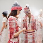 Backstage at the Spring-Summer 2015 Haute Couture show. More on http://t.co/2awcEcoIcl #chanelhautecouture http://t.co/xsSXHKhKWx