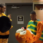 Remember when @Aldridge_12 and @Dame_Lillard went incognito for All-Star 2014? #TBT Video » http://t.co/QngjWqXJ7a http://t.co/FBGuDNxMyg