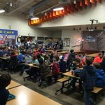 The kids at Mullan Road Elementary are about to get a big #Seahawks surprise! #KXLY http://t.co/LkdRxyf6TR