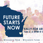 ".@SaveOurBucks w/@NEWaukee & @fuelmilwaukee ""Future Starts Now-Rally For Arena"" Tues Feb 3rd. http://t.co/mb5hs2w6jh http://t.co/pWr7t7a9AA"