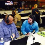 Fathead CEO @pathead26 discusses Patriots & Seahawks sales trends with @SportsRadioKJR on Radio Row. #SuperBowlXLIX http://t.co/HXynSMr8tb