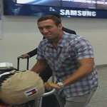 "[FOTO] Brahian Alemán llegó a Guayaquil y manifestó: ""Vine a Triunfar"" http://t.co/6qMhrJinUp http://t.co/kTjA4PEFfo"