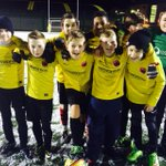 Well done Youth in a top match against the U13s in snowy #TunbridgeWells & luckily we had a yellow ball #goforesters http://t.co/orQk9vdIqe