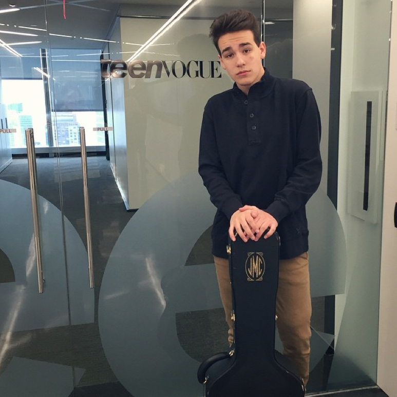 Come visit @TeenVogue again soon, @JacobWhitesides!