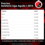 Recordamos los precios de boletería para el encuentro @Cucutaoficial vs @JuniorClubSA. ¡TODOS AL GENERAL SANTANDER! http://t.co/H1tvzlba1S
