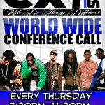 NOW @cx1djs conference Call 530 881-1212 access 862-421-575 @djbutterrock @kennretro @YungSwagg662 @DJ7CC @ECMDradio  http://t.co/WfAh4Q1n56