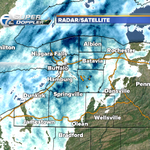 8:20pm Snow continues across WNY. Temps will drop quickly overnight and roads will be icy Friday morning. http://t.co/4KuqjXQlaR
