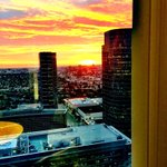 #sunset at #Oscars offices before move to Dolby Theater soon @TheAcademy @ActuallyNPH @craigzadan @ABCNetwork http://t.co/HyB37eTjjh