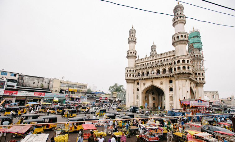 Returning to Hyderabad, once a land of princes and palaces. (Ryan Dearth for NYT)