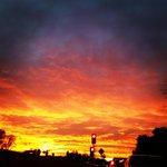 """Nice """"@carmencadenaLA: The sky is on fire!! #beauty #sunset #LA @KTLA http://t.co/g8kKikfVr2"""""""