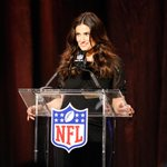 "And shes rooting for the #Seahawks! ""@SuperBowl: .@idinamenzel speaking to the media prior to #SB49! http://t.co/WRMbHEJ5kU"" #GoHawks #SB49"