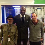 #Michigan native, @terrycrews stopped by Compuware today to hear all about the great things happening in #Detroit! http://t.co/5eMU5kkU54