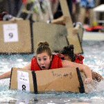 #Guelph students make a splash today in cardboard boat building event at Centennial Pool http://t.co/p1OxW3SRyy http://t.co/NBUh9bHHoO