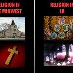 Religion in LA vs religion in the Midwest #LA #tarotcards http://t.co/9jeI0JaUhj