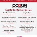 Lista de hospitales donde se encuentran los lesionados del #HospitalMaternoInfantil. #LocatelTeInformaYOrienta http://t.co/uSjIX2UlIu