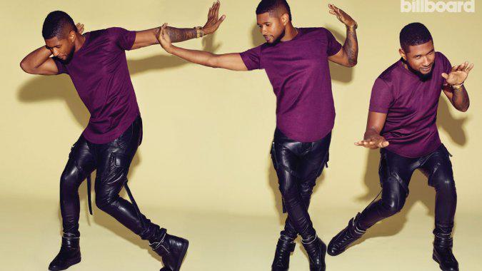 Usher Hosting Billboard/Hollywood Reporter Super Bowl Pre-Game Party