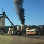 Pictures coming in of reported fire on Knife River asphalt plant. Reporter is headed to the scene. http://t.co/EPFlJjl0aZ