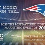 My #SB49 pick to win me a ticket to #C2C15 is the #Patriots! http://t.co/0g3Dhia2Tt http://t.co/pMZHCuJzJK