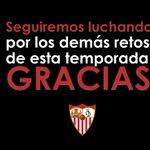 Final en Nervión #SevillaFC 1-0 @RCDEspanyol, el Espanyol pasa a semifinales #GraciasAficion #vamosmisevilla http://t.co/8SlU6kIVp4