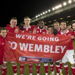 "PIC: ""Were the famous #BristolCity and were off to Wembley."" http://t.co/poL18TGcHU"