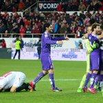 Fotogalería del Sevilla 1-0 Espanyol http://t.co/BunlOpzHO4 El Espanyol, eufórico tras su pase a semifinales. http://t.co/MhI3ESrjNN