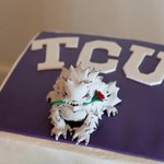 For those asking, its @GrovePastryShop that made that awesome TCU grooms cake. http://t.co/SdwjKQsmgf http://t.co/ttJZWbuP6E