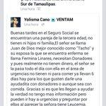 Gente de #Tampico #Madero #Altamira #Tamaulipas es tiempo de apoyar con lo que pueda, siempre es bueno. :) http://t.co/CW6d81Nugk