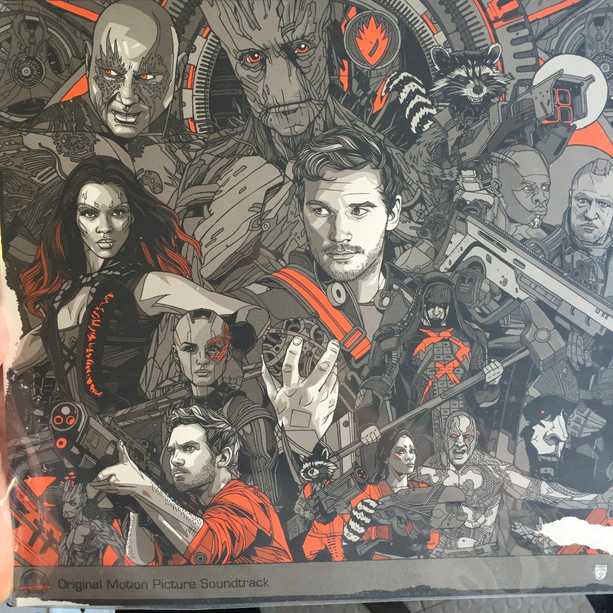 Retro as heck. Guardians soundtrack on vinyl. http://t.co/RsciF1apTW