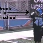 Before Gronk was an NFL wrecking ball, he was a high school wrecking ball (HIGHLIGHTS): http://t.co/sqZv9dwfrG http://t.co/wFWJ48TyJT