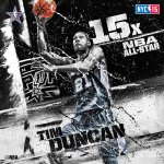 Western Conference #NBAAllStarNYC Reserve Tim Duncan of the @Spurs! http://t.co/VuRatEOVxU