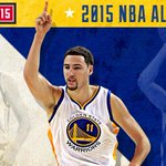 ITS OFFICIAL! @KlayThompson has been named to the 2015 Western Conference #NBAAllStar team! #DubNation http://t.co/Y8lwRjoNy3