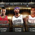 Only 2 centers in the game? #VoteHoward #BringBackTheBigs #DwightShouldBeIn RT @NBAonTNT: Weigh in! http://t.co/LiPDJxy6yh